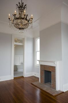 Moulding with a coved ceiling