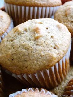 Shopgirl: Country Applesauce Muffins