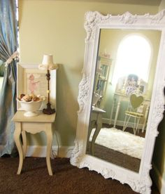 decor, mirrors, mirror mirror, idea, sweet, dream, shabbi chic, hous, bedroom