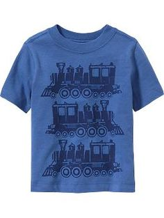 Train-Graphic Tees for Baby