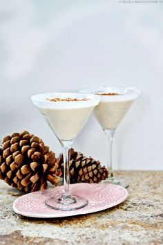 Misty Maiden Martini   You must serve this creamy dessert cocktail at your holiday parties! Chocolate, hazelnut, walnut & cream. Mmmmmm! MarlaMeridith.com
