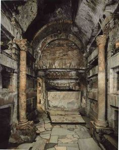 The Catacombs of Rome, on the via appia