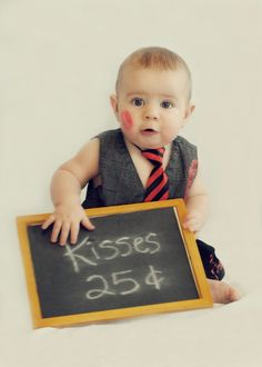 Valentine's Day Photo Ideas for baby