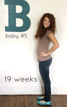 baby #5: 19 weeks: on eating, exercising, clothing changes, gaining weight, and birth plans from a fitness instructor mom of 4