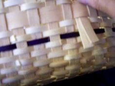 New England Basket Tote - #8  (how to place the markers for the handle)