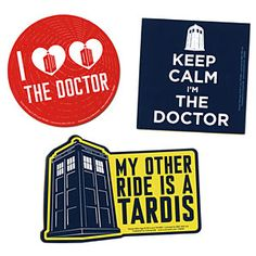 ThinkGeek :: Doctor Who Car Magnets