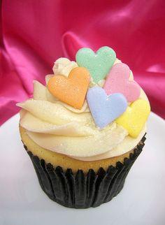 Valentine cupcake idea!