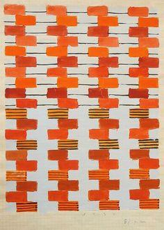 fabric design - bauhaus