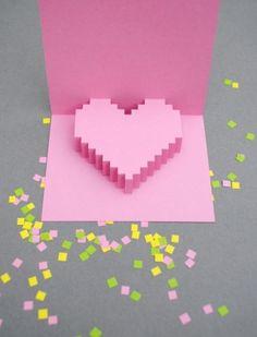 Heart Pop Up Card