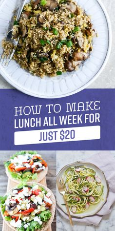 Lunch all week €20