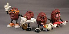 1980 toys | Vintage Month > The California Raisins (Applause, 1988) : PoeGhostal ...