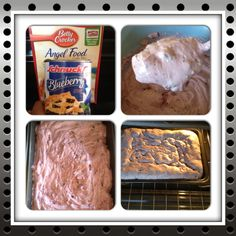 "2 Ingredients"" Blueberry Angel Cake""  I made it tonight..it was Sweet & Delicious!!~!--Alex"