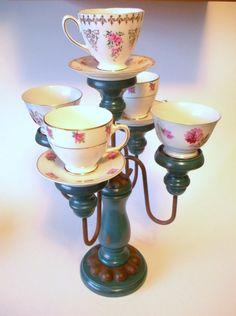 Teacups and candelabra