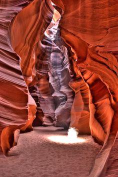 Antelope Canyon in Arizona, USA