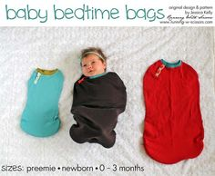 Running With Scissors: Baby Bedtime Bags PDF Pattern
