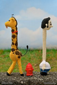 Side View- Ralph with Raffe the Giraffe by WooWork.com, via Flickr