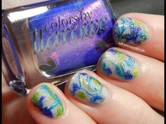 Let them have Polish!: Colors by Llarowe Shimmering Color Drops Look (+ Video Tutorial)