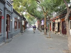 From Bicycles to Cars in Beijing