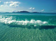 Clear Ocean Wave