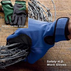 Puncture Resistant Gloves Protect Your Hands.  Work with confidence - without worry.