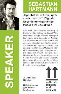 Sebastian Hartmann - Speaker @ #mukomuc & #scmuc12 //  http://scmuc.posterous.com