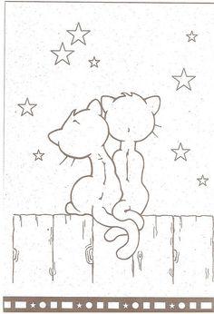 cat couple.