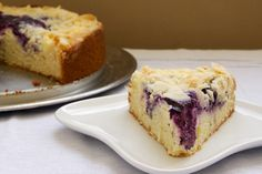 Bake or Break | Blueberry Cream Cheese Coffee Cake