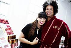 Elizabeth Arden's senior make-up artist, Gina Myers makeup artist