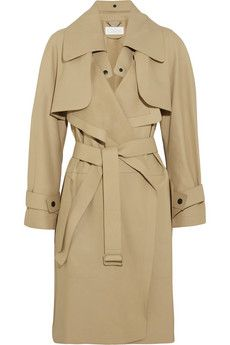 Chloé Convertible leather trench coat | NET-A-PORTER