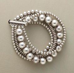 gorgeous silver bracelet