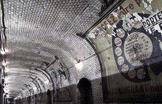 Abandoned St Martin Subway Station
