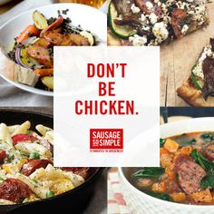 See how simple cooking with sausage can be.