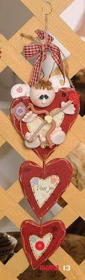 Pasta Flexible Lulu Mendoza: Ideas sencillas para el Amor y la Amistad