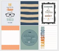 Free Change Journal Cards by Amy Kingsford   Get It Scrapped