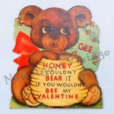 valentine bear puns