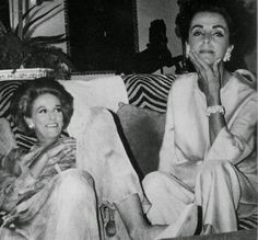 Babe Paley and Gloria Guiness…..way beyond chic