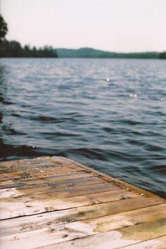 dock + lake