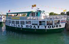 Soo Locks Boat Tours vessel  -Sault Ste. Marie, UP Michigan