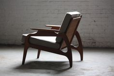 Mid-Century Modern Lounge Chair | Designer: Adrian Pearsall | Photographer: Kenny K #mcm #chair #midcentury