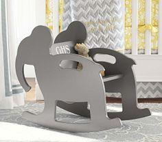 elephant nursery, rocking chairs, baby toys, babies nursery, nurseri, eleph rocker, pottery barn, kid, babies rooms