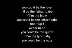Miguel- Sure Thing...one of my faves, love these lyrics!