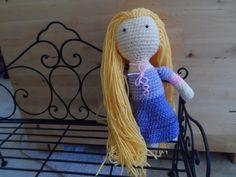 Cómo hacer a Rapunzel de Enredados en crochet