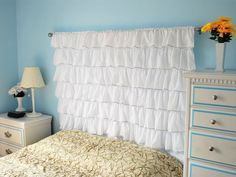 20 Versions of Headboards that  You Can Totally DIY