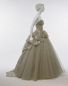 Vintage Dior gown, 1949 Venus, Metropolitan Museum