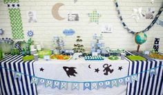 Rockets & Aliens + Space Themed 1st Birthday Party - Kara's Party Ideas - The Place for All Things Party