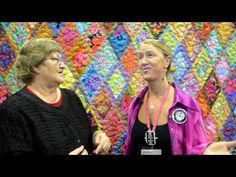 Christina Belding - 1st time entrant in an AQS show - YouTube