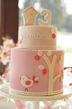 Resultados de la Búsqueda de imágenes de Google de http://fiestasycumples.com/wp-content/uploads/2011/05/tarta-rosa-con-pajarito.jpg