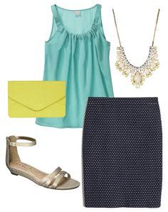 Style Tips: 3 Ways to Wear a Polka Dot Pencil Skirt polka dots, pencil skirts