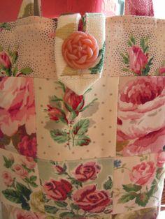 Rose patchwork bag