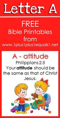 Free Bible Verse Printables ~ Letter A {Raising Lil Rock Stars}